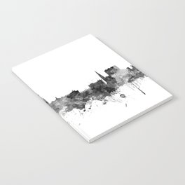 York England Skyline Notebook