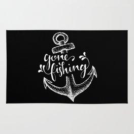 Gone Fishing [reversed] Rug