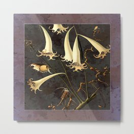 Franz Sedlacek Blooms And Insects I Metal Print