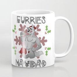 Furries Navidad Coffee Mug