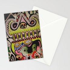 crocodile eyes Stationery Cards