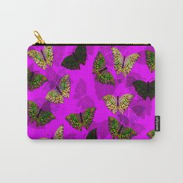 PurpleLightButterfly Carry-All Pouch