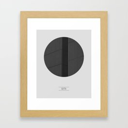GUTTA Framed Art Print