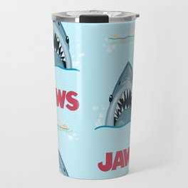 Shark Pattern no.1 Travel Mug