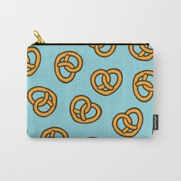 I Heart Pretzels Pattern Carry-All Pouch