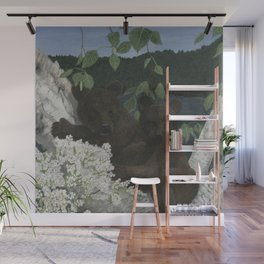 Bear Hugs Wall Mural
