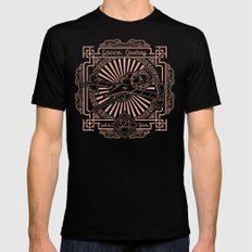 Let's Jam Black LARGE Mens Fitted Tee