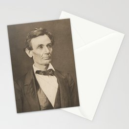 President Abraham Lincoln Stationery Cards