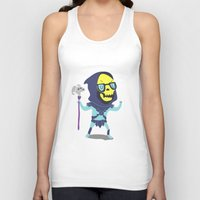 skeletor Tank Tops featuring Skeletor by Rod Perich