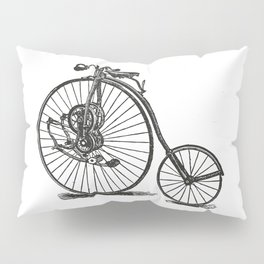 Old bicycle Pillow Sham