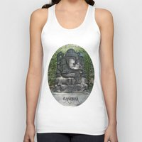 ganesha Tank Tops featuring Ganesha by Lucia