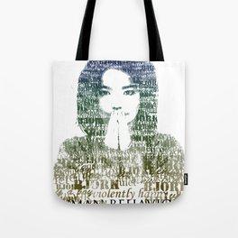 Bjork Human Behaviour  Tote Bag