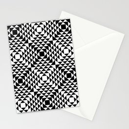 Geometric Tribal Stationery Cards