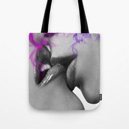 Pink Gloss Tote Bag