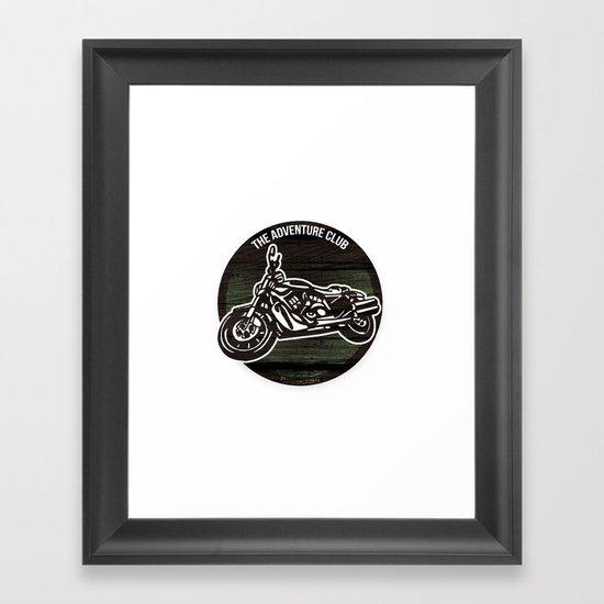 The Adventure Club Framed Art Print