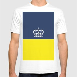 flag of Regina city,Saskatchewan,Canada T-shirt