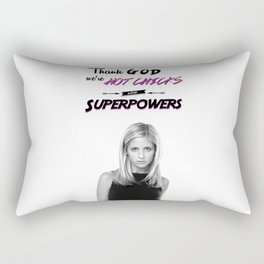 Hot Chicks With Superpowers Rectangular Pillow