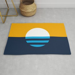 The People's Flag of Milwaukee Rug