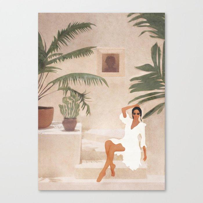Graceful Resting II Canvas Print