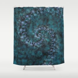 From Infinity - Ocean Shower Curtain