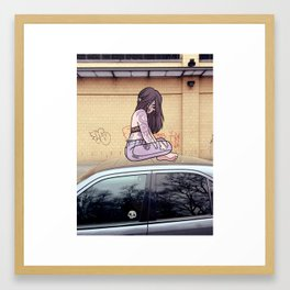 HIGH JAGGER Framed Art Print