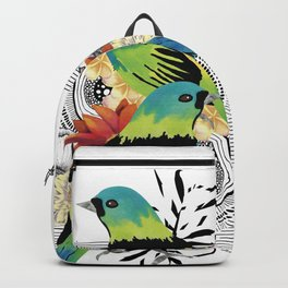 Green-headed Tanager Backpack
