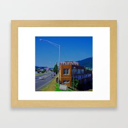 South Main Framed Art Print