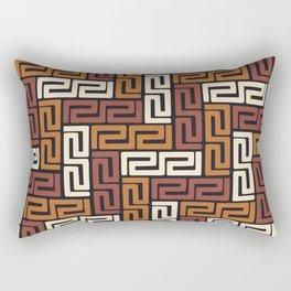 African Kuba Cloth 5 Rectangular Pillow