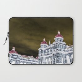 inverted parliment building Laptop Sleeve