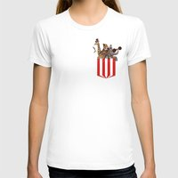 pocket T-shirts featuring Pocket Circus by Sachpica