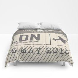 Travel Tag Natural Comforters