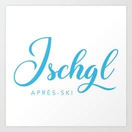 ISCHGL Art Print