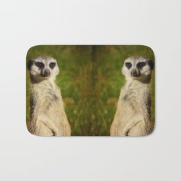 I am a model - a meerkat Bath Mat