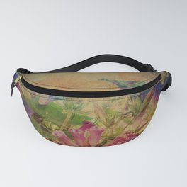 Flowers have music for those who will listen Fanny Pack