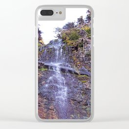 Tiny Waterfall Clear iPhone Case