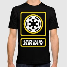 Imperial Army Mens Fitted Tee SMALL Black