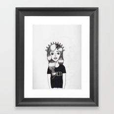 Molly (Every Man Has One) Framed Art Print