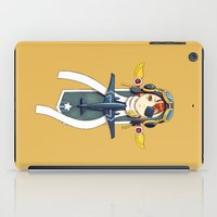 pilot iPad Cases featuring Pilot Banner by Freeminds