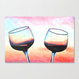 Toast To The Coast Canvas Print