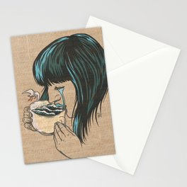Her Tears Became The Sea Stationery Cards