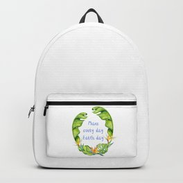 Make every day earth day pretty design Backpack
