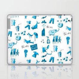 Blue Things Laptop & iPad Skin
