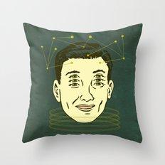 headache highness Throw Pillow