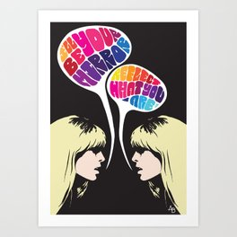 Nico: I'll Be Your Mirror Art Print