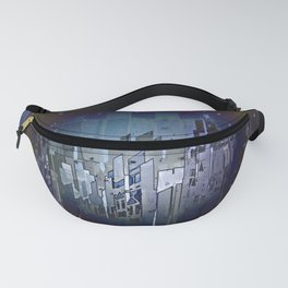 Walls in the Night - UFOs in the Sky Fanny Pack