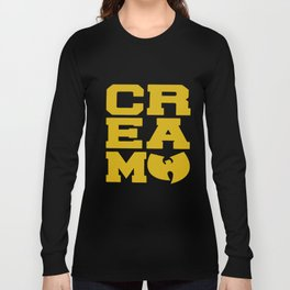 Rza Gza Odb Method Rap Tee Cream Cash Rules Mens Hip Hop T-Shirts Long Sleeve T-shirt