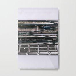 Space and line  Metal Print