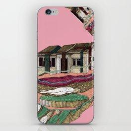 house deformation iPhone Skin