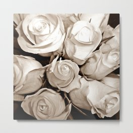 Just Roses Metal Print