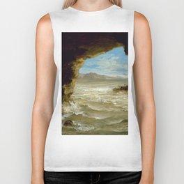 "Eugène Delacroix ""Shipwreck on the Coast"" Biker Tank"